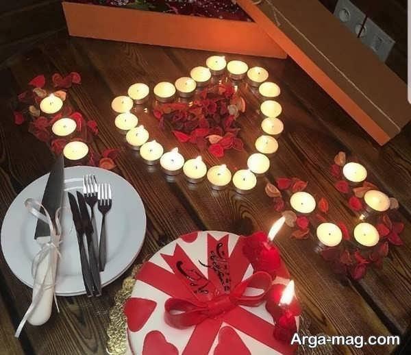 زیباترین تزیینات خانه با شمع