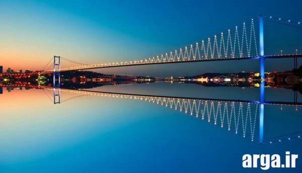 پلی زیبا در استانبول