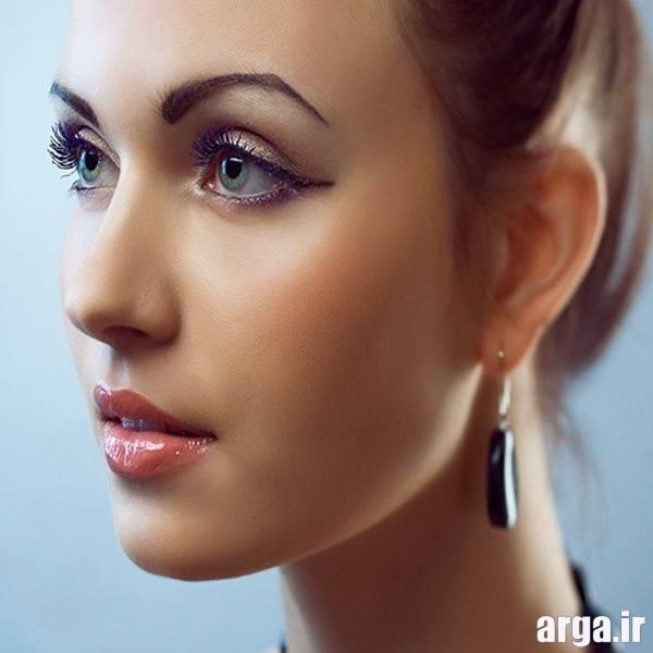 آرایش صورت ساده و دخترانه