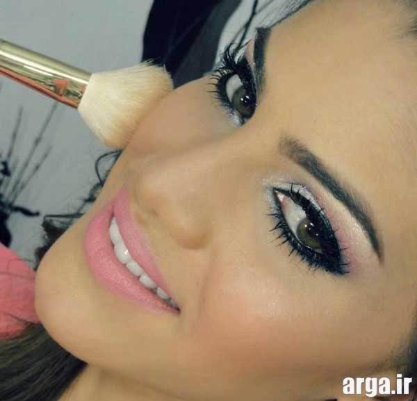 آرایش صورت شیک و مدرن دخترانه