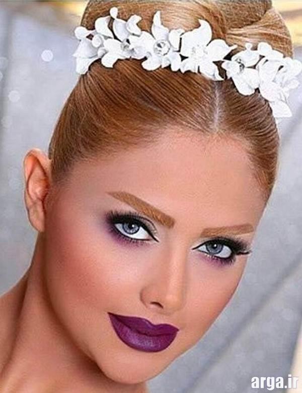 شیک ترین مدل های آرایش عروس