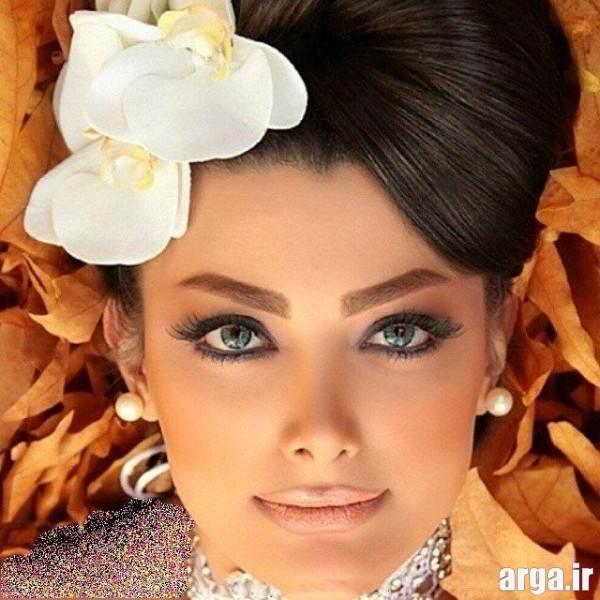مدل های زیبای میکاپ عروس