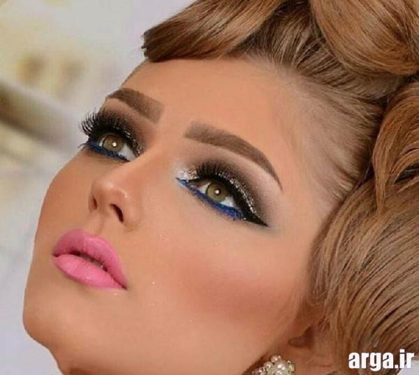 مدل های زیبای آرایش عروس شیک و جذاب