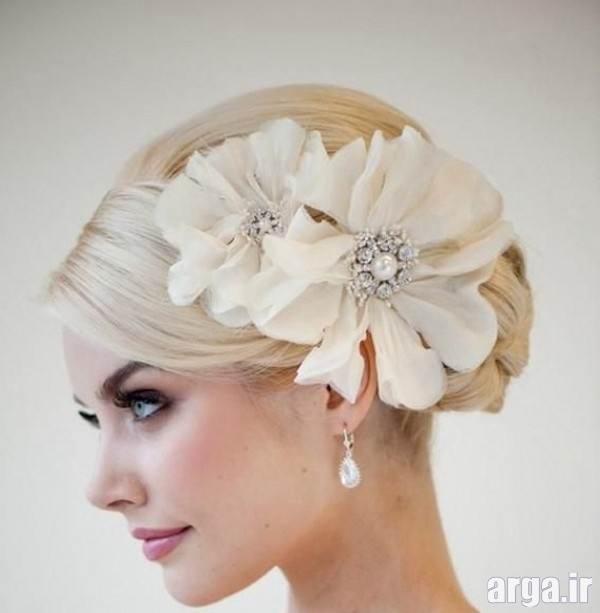 آرایش جذاب عروس اروپایی