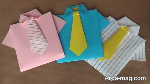 ساخت پیراهن کاغذی برای کودکان