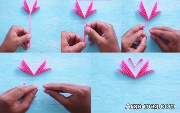 آموزش ساخت کارستی با کاغذ