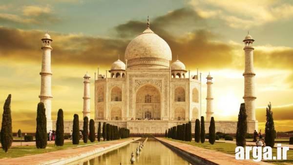 بناهای تاریخی در دل طبیعت