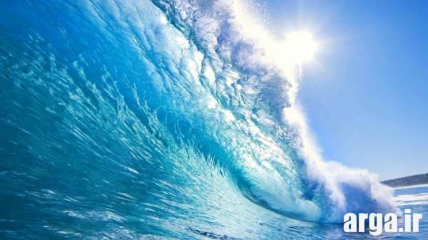 طبیعت در دل دریا