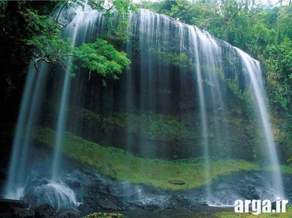 آبشار های طبیعی