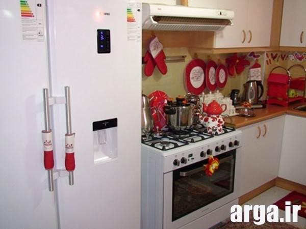 تزیین پارکینگ خانه منطقه آزاد - تزیین آشپزخانه عروس خانم