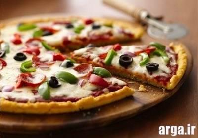 طرز تهیه پیتزا مخلوط لذیذ