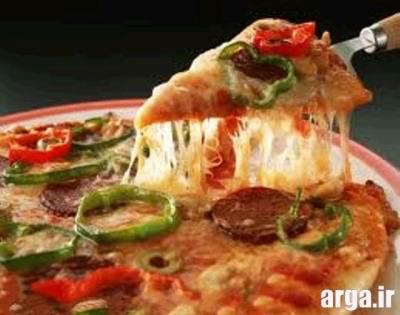 طرز تهیه پیتزا مخلوط خوشمزه