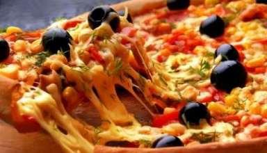 طرز تهیه پیتزا مخلوط