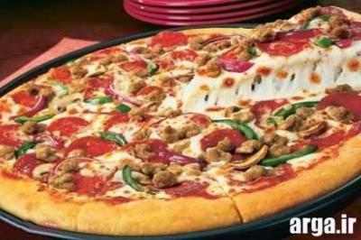 Image result for طرز تهیه پیتزا