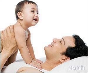 پدر و کودک نوپا
