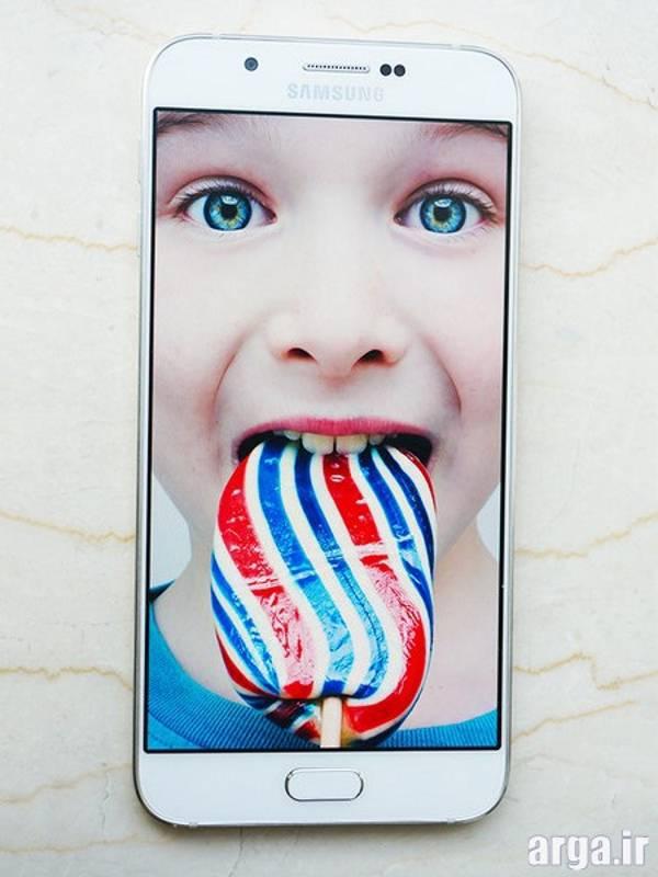 صفحه نمایش  Galaxy A8