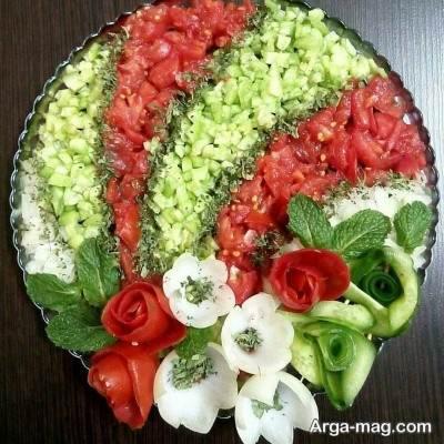 دستور تهیه سالاد شیرازی