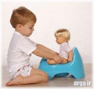 پوشک گرفتن کودک
