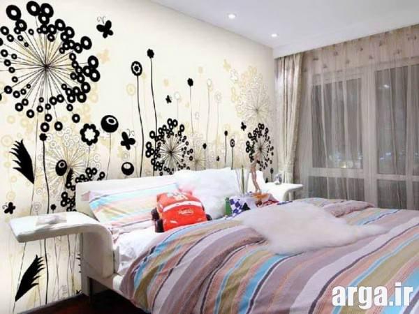 تزیین دیوارهای اتاق خواب