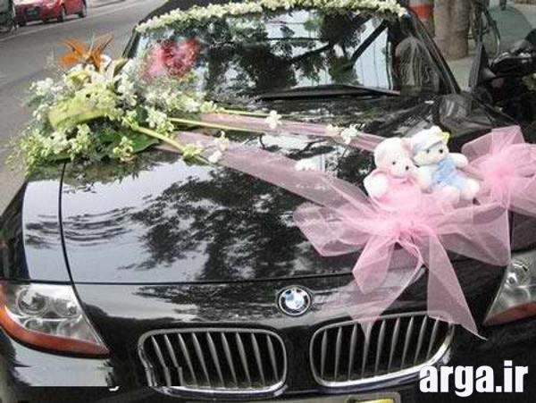 ماشین تزیین شده عروس
