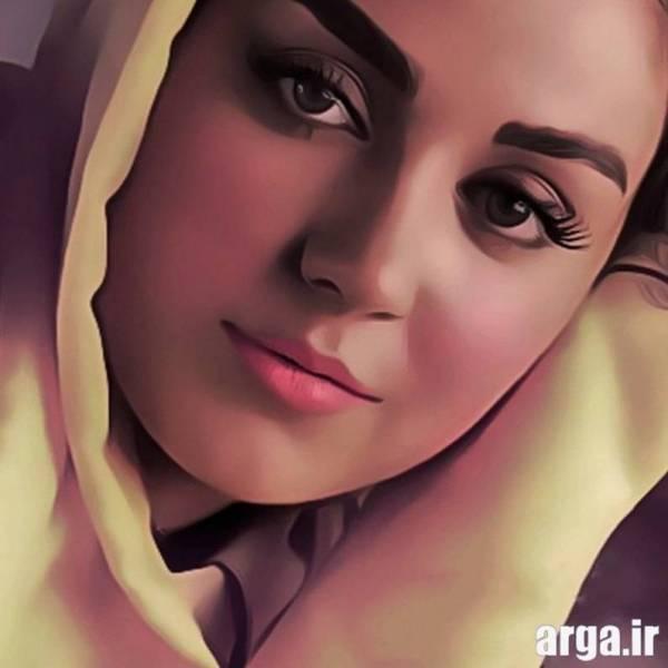 تصویر افسانه پاکرو نقاشی شده