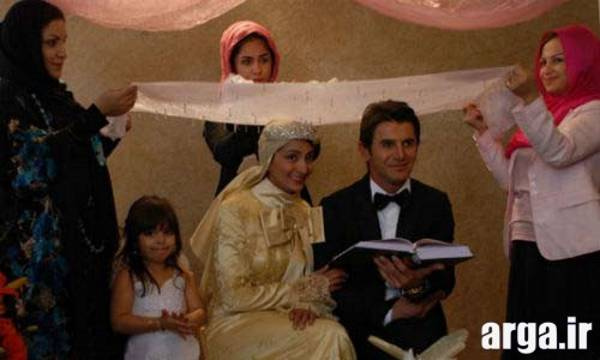 مراسم عقد امین حیایی و همسرش