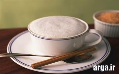 دم کردن قهوه کاپوچینو