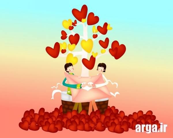 عکس زیبای عاشقانه دو نفره