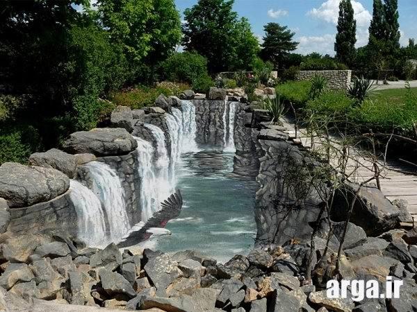 آبشار بزرگ سه بعدی