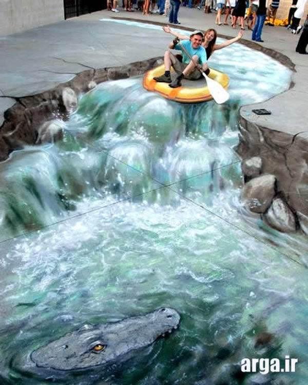 قایق سواری سه بعدی