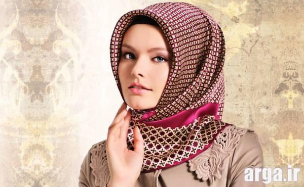 مدل بستن روسری زیبا