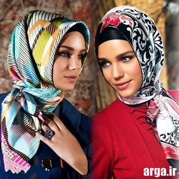بستن روسری چهار گوش لبنانی مدل روسری برای خانمهای ایرانی