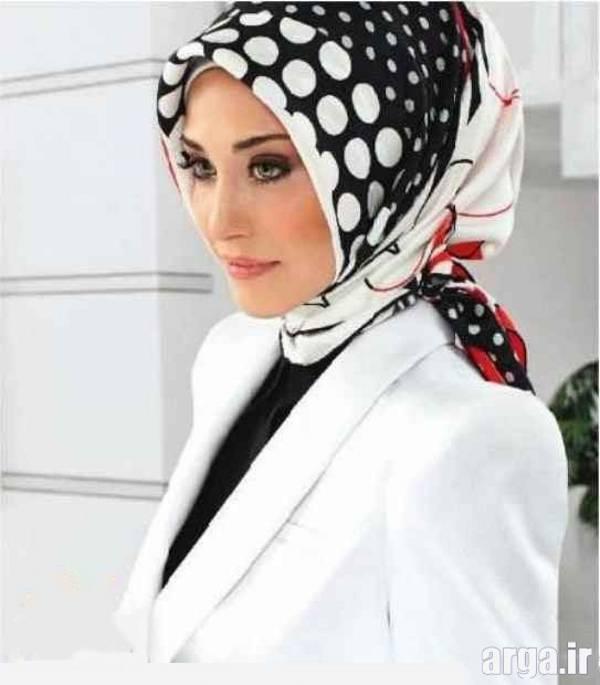بستن روسری به روشی مدرن