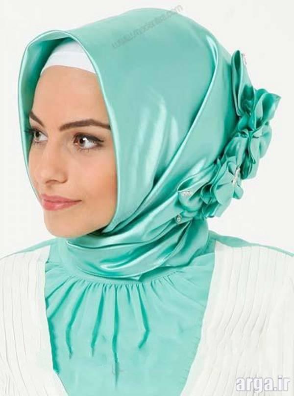فیلم آموزش بستن روسری سایز بزرگ مدل لباس زنانه سحر - مطالب ابر مدل بستن روسری برای مجالس