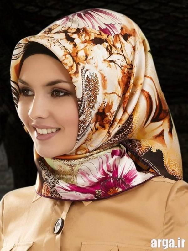 بستن روسری به روش ترکیه ای