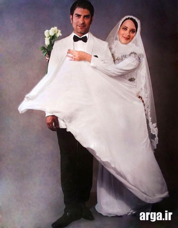 عکس عروسی بهنوش طباطبایی