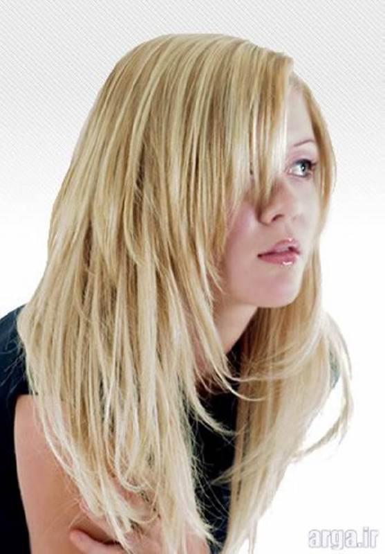 موی بلند بلوند