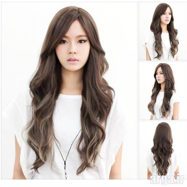 مدل موی بلند زنانه کره ای