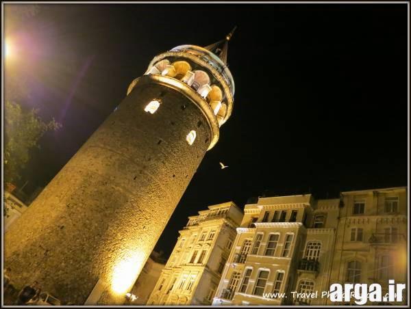 برج گالاتا در عکس های استانبول