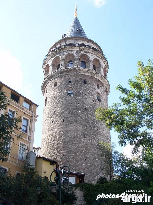 تصویری دیگر از برج گالاتا عکس های استانبول