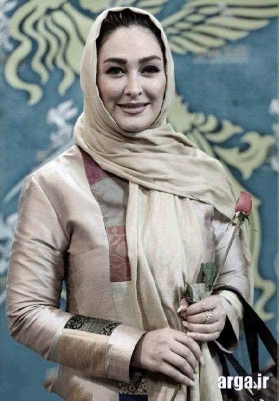 عکس خانم حمیدی در جشنواره