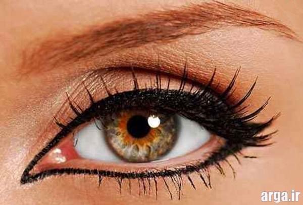 خط چشم مخصوص آرایش چشم عروس
