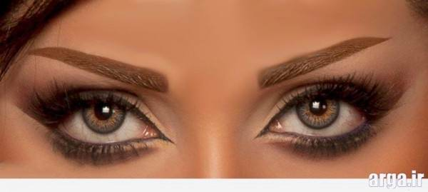 آرایش متفاوت چشم عروس