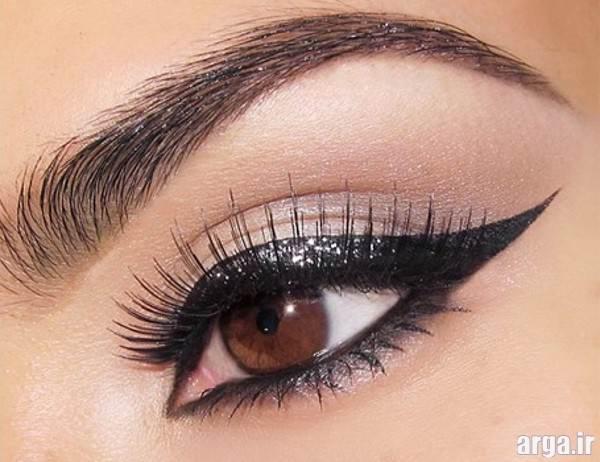 آرایش چشم زیبا و ساده برای آرایش چشم عروس