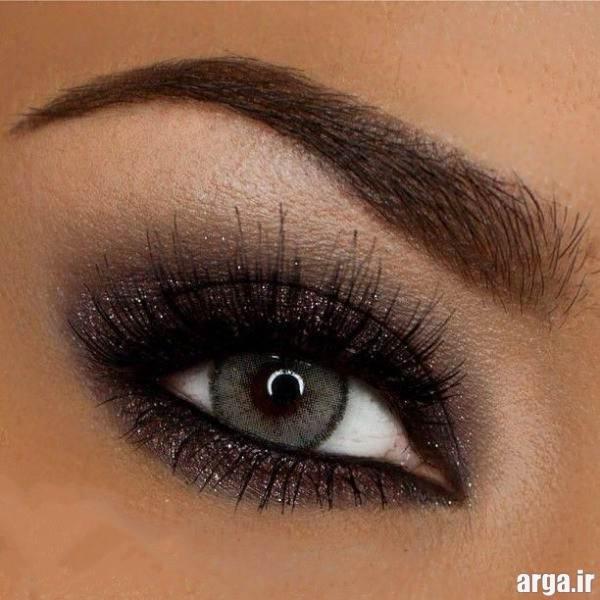 آرایش چشم ساده و جذاب برای عروس