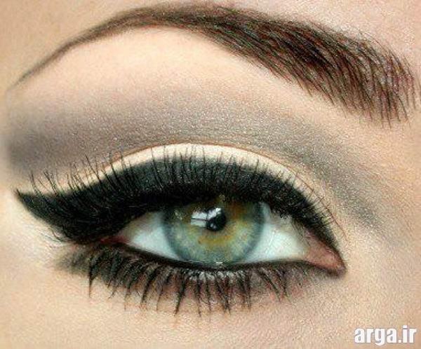 آرایش چشم برای پلک پف دار
