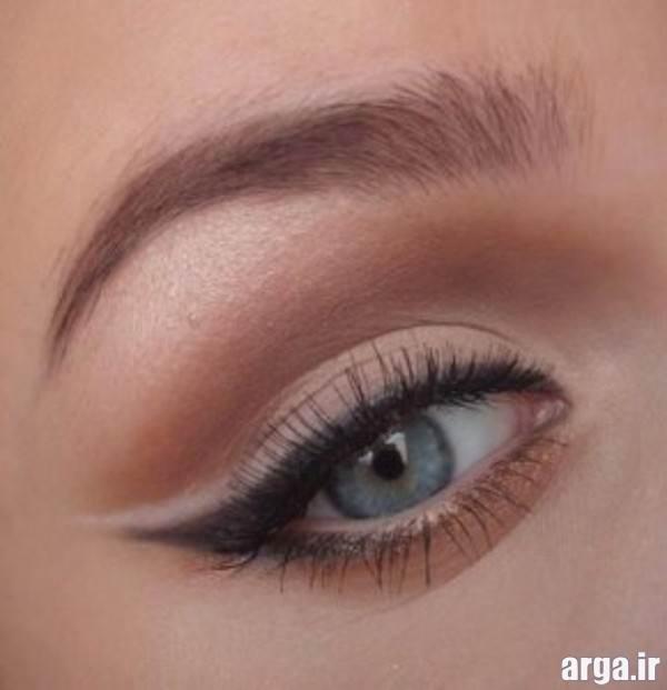 آرایش چشم زیبا با خط چشم ساده