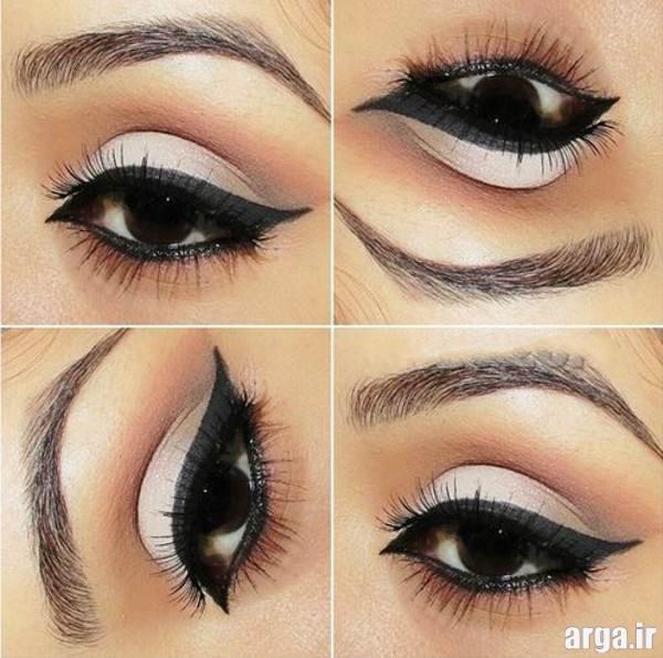مدل خط چشم برای چشم های مشکی