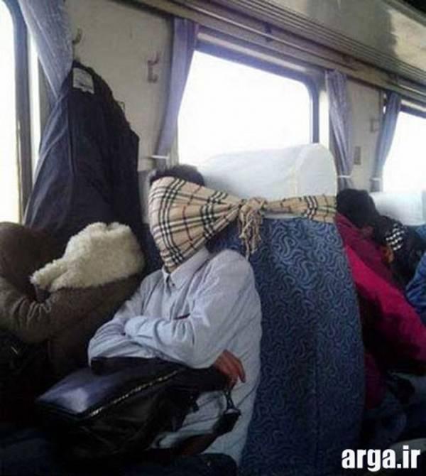 یک فکر بکر در خوابیدن در عکس