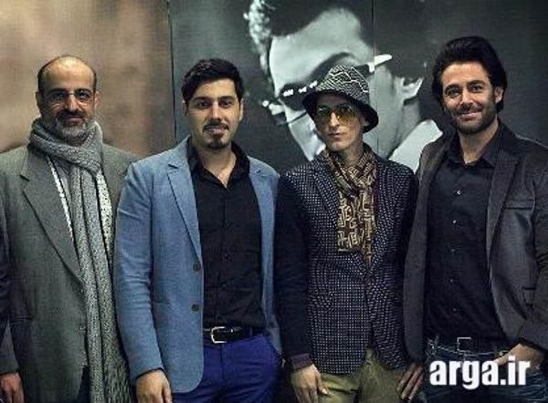 عکس دسته جمعی محمدرضا گلزار